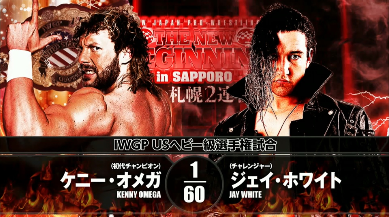 NJPW New Beginning in Sapporo Report - Kenny Omega vs. Jay White, Big Angle  Closes Show - POST Wrestling | WWE NXT AEW NJPW UFC Podcasts, News, Reviews