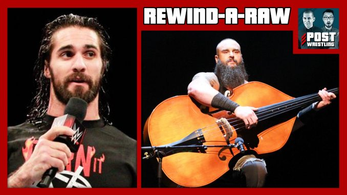 Rewind-a-raw 2/12/18: elimination chamber 2nd chance match.