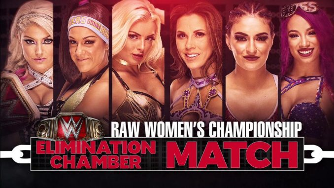 participants for the women s elimination chamber match announced
