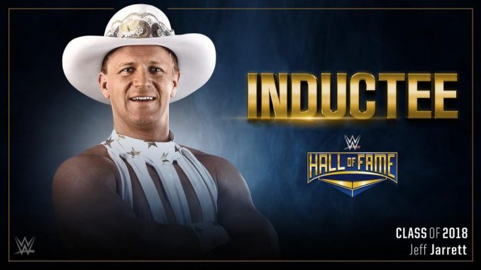 13bf140414c Jeff Jarrett has been announced as the latest inductee for the WWE s Hall  of Fame class