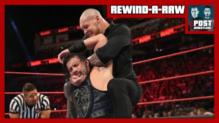 We talk about John's favourite wrestling hold on today's edition of Rewind-A-Raw!