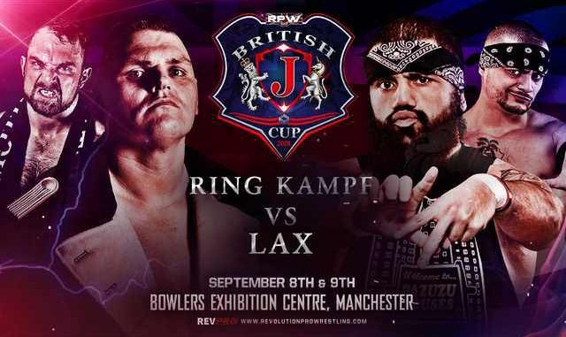 Rev Pro British J Cup 2018 - Day 2 Results - POST Wrestling
