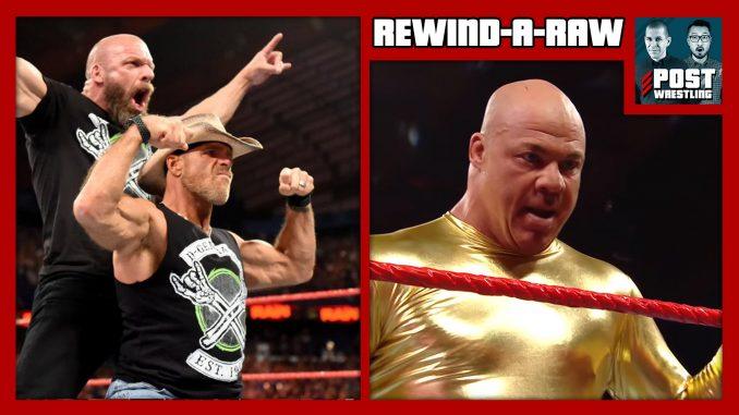 RAR 10/8/18: HBK to wrestle, DX reforms, Bellas turn, Angle returns