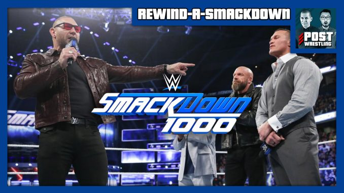 RASD 10/16/18: SmackDown 1000, Evolution reunion, Mysterio vs. Nakamura