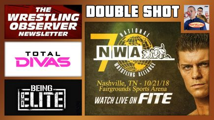 DOUBLE SHOT 10/24/18: NWA 70th Anniversary, WON Hall of Fame, Total Divas