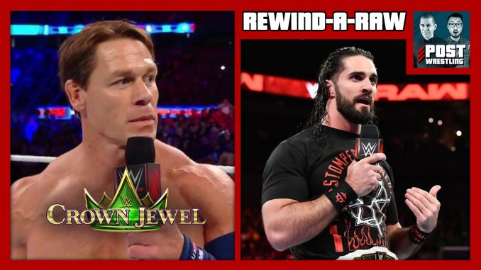 RAR 10/29/18: Cena replaced at Crown Jewel, Rollins-Ambrose follow-up
