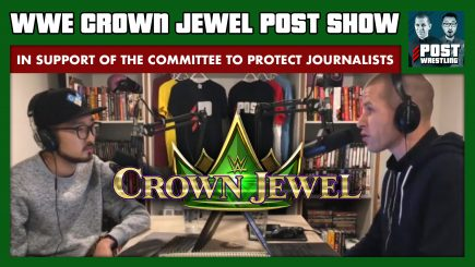 John Pollock & Wai Ting present a special live POST Show immediately following WWE Crown Jewel.