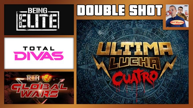 DOUBLE SHOT 11/7/18: Ultima Lucha Cuatro Pt 1, BTE Halloween, Total Divas