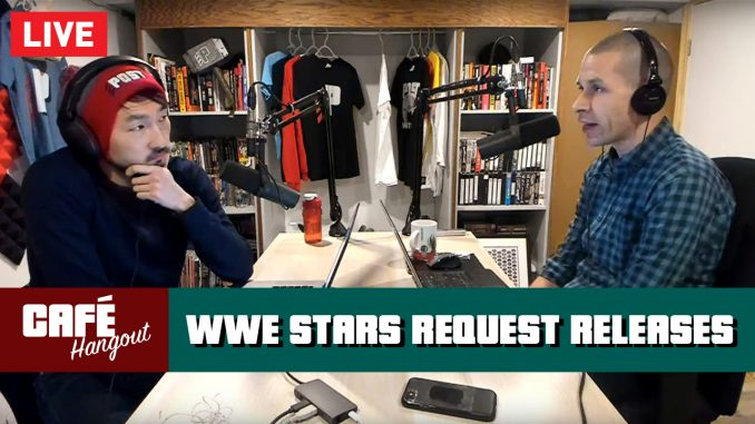 WWE Stars Request Releases, Jericho Talks AEW Deal | Café Hangout LIVE (1/17/19)