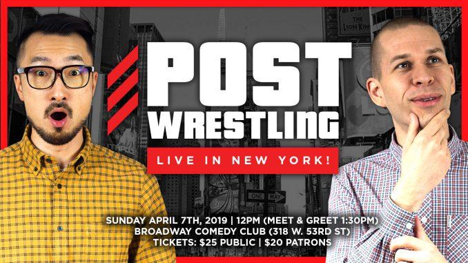 POST Wrestling Live in New York!