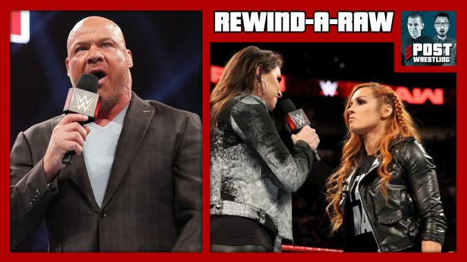 RAR 2/4/19: Kurt's Angle, Becky suspended, Banks & Bayley qualify