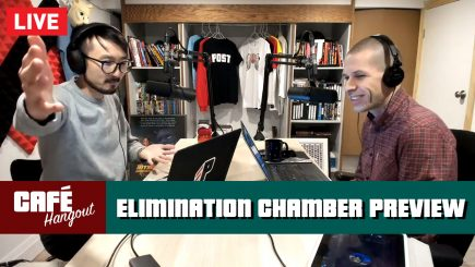 WWE Elimination Chamber Preview w/ Nate Milton | Café Hangout LIVE (2/14/19)