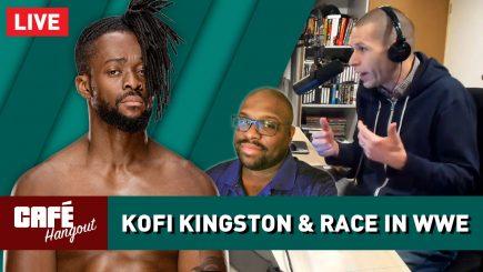 Kofi Kingston & Race in WWE w/ Nate Milton | Café Hangout (3/29/19)