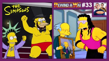 "REWIND-A-WAI #33: ""The Simpsons"" Wrestling Episodes (S8E21 / S24E14)"
