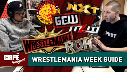WrestleMania Week Guide & Preview   Café Hangout (4/4/19)