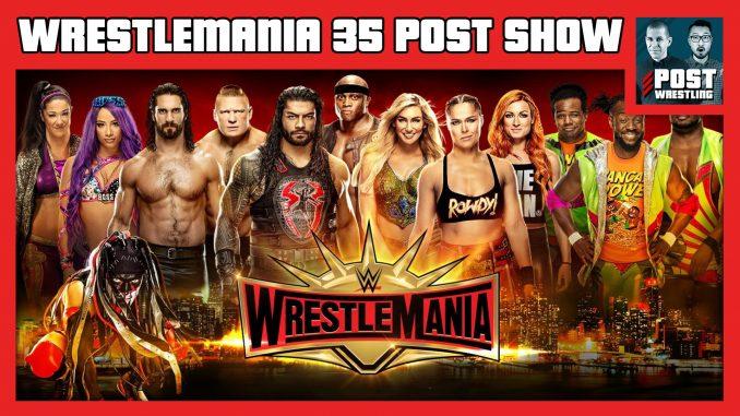 WWE WrestleMania 35 POST Show