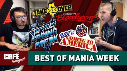 Best of WrestleMania Week | Café Hangout (4/11/19)