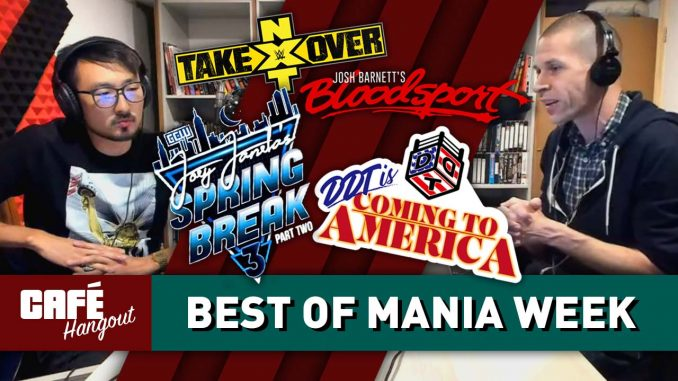 Best of WrestleMania Week | Café Hangout (4/11/19)