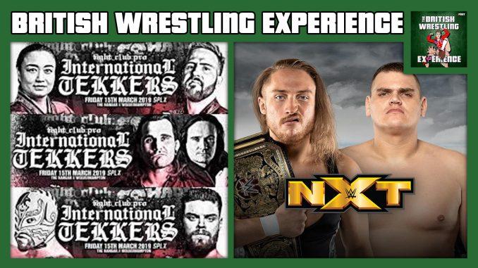 BWE 4/4/19: FCP Int'l Tekkers, Dunne v WALTER, WrestleMania