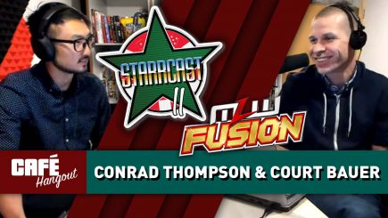 Conrad Thompson talks Starrcast II, Court Bauer on MLW Fusion | Café Hangout (5/3/19)