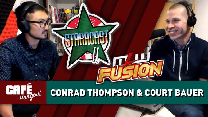 Conrad Thompson talks Starrcast II, Court Bauer on MLW Fusion | Café Hangout (5/3/19)