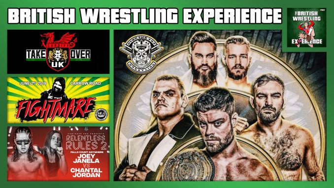 BWE 6/12/19: NXT UK TakeOver, OTT Banjaxed, WAW Fightmare, Janela vs. Jordan