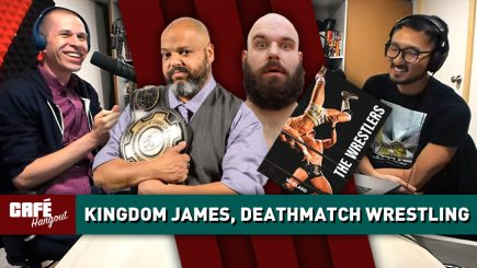 Anthony Kingdom James, The Wrestlers: Deathmatch Wrestling | Café Hangout