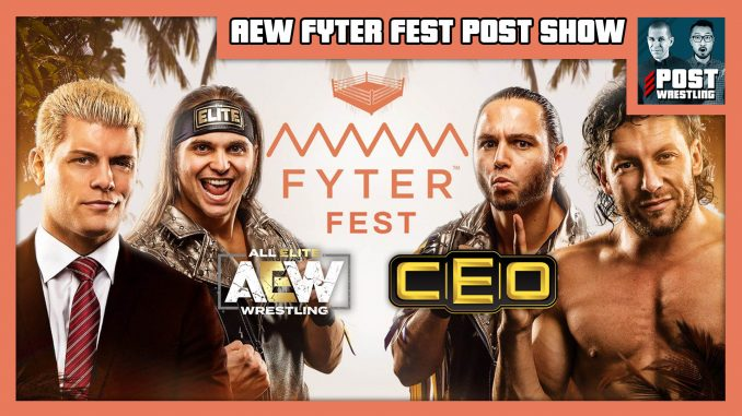 AEW Fyter Fest POST Show