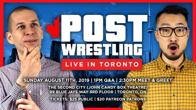 POST Wrestling Live in Toronto!