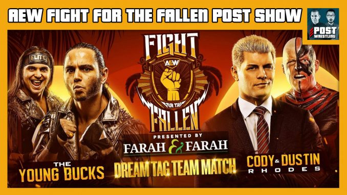 AEW Fight for the Fallen POST Show