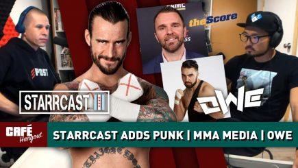 CM Punk at Starrcast, James Lynch, Buck Gunderson | Café Hangout