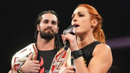 "Becky Lynch was ""very apprehensive"" about Seth Rollins romance being used on TV"