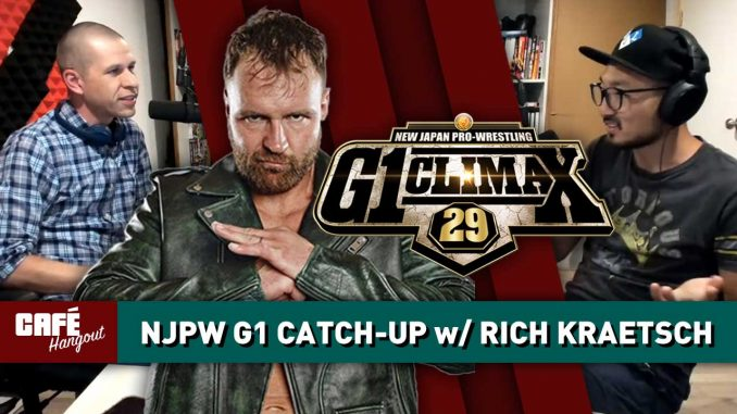 G1 Climax 29 Catch-Up w/ Rich Kraetsch | Café Hangout