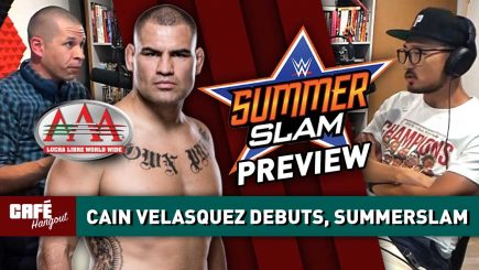 Marc Raimondi talks Cain Velasquez debut, SummerSlam Preview | Café Hangout