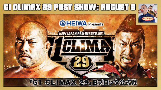 G1 Climax 29 POST Show: August 8 – Tomohiro Ishii vs. Shingo Takagi