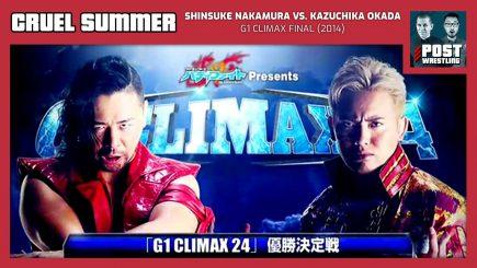 Cruel Summer #24: Shinsuke Nakamura vs. Kazuchika Okada (2014) w/ Joey Bay