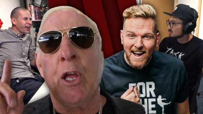 Ric Flair vs. WWE, Pat McAfee talks to John Pollock   Café Hangout