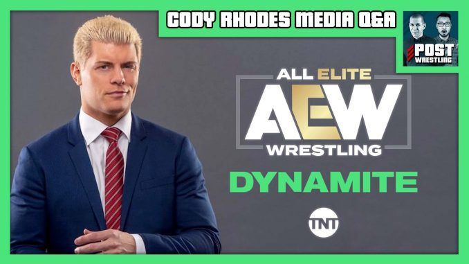 Cody Rhodes Media Q&A [Full Audio]