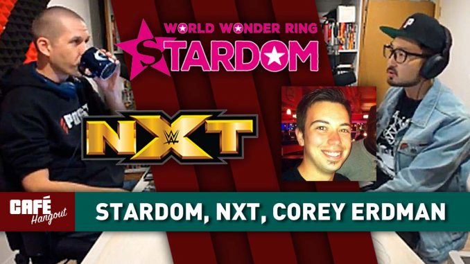 NJPW parent company buys Stardom, Corey Erdman talks Patrick Day | Café Hangout