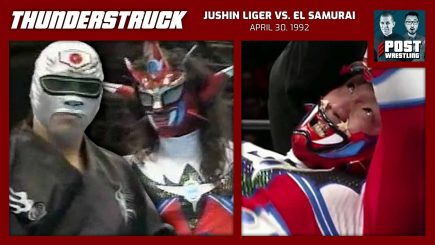 Thunderstruck #6: Jushin Liger vs. El Samurai (4/30/92) w/ Dylan Fox