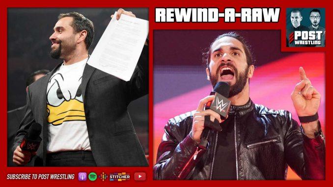 REWIND-A-RAW 12/9/19: Lana-Rusev Divorce, Rollins Gets in the Van