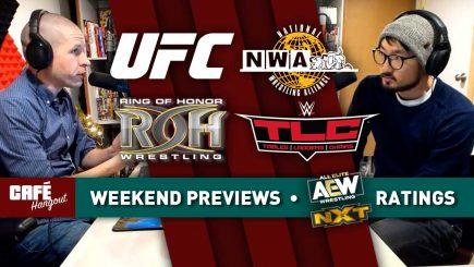 Café Hangout: Weekend Previews, AEW-NXT ratings, Phone Calls