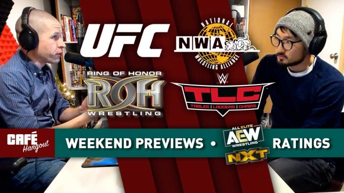 Café Hangout: Weekend Previews, AEW-NXT ratings, Phone Calls