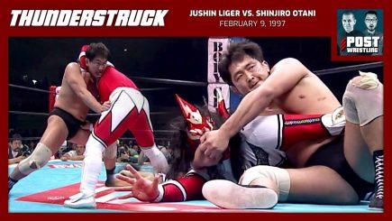 Thunderstruck #9: Jushin Liger vs. Shinjiro Otani (2/9/97) w/ Daniel Makabe