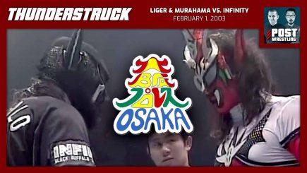 Thunderstruck #10: Liger & Murahama vs. Infinity (2/1/03) w/ STRIGGA