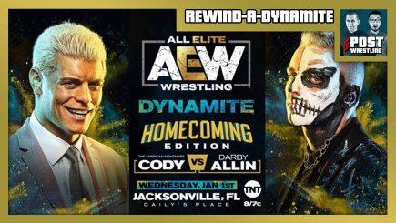 "Rewind-A-Dynamite 1/1/20: AEW ""Homecoming"" w/ upNXT"