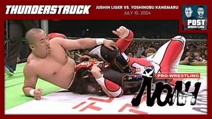 Thunderstruck #13: Jushin Liger vs. Yoshinobu Kanemaru (7/10/04) w/ JP