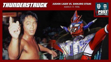 Thunderstruck #14: Jushin Liger vs. Shinjiro Otani (3/17/96) w/ Martin Bushby
