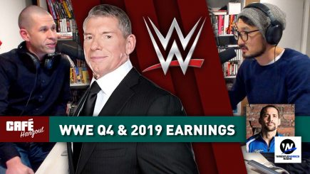 Café Hangout: WWE Q4 and Full Year 2019 Results w/ Brandon Thurston