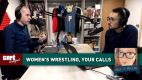Café Hangout: Women's Wrestling w/ Kristen Ashly, Your Calls